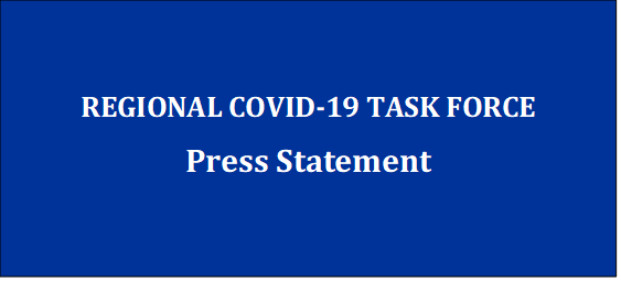 Regional COVID-19 Task Force Press Statement